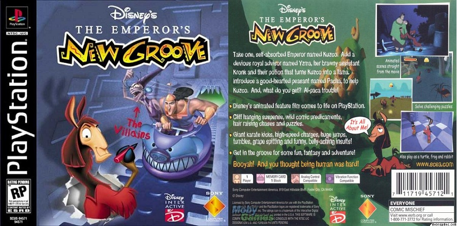 Disney s The Emperor s New Groove Action Game for PC - GameFAQs